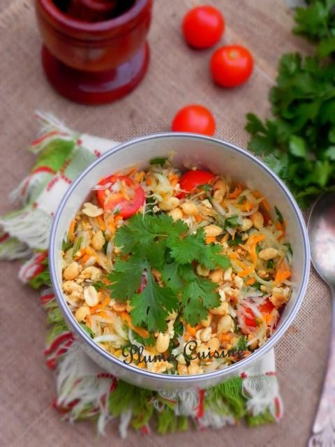 Salade-de-papaye-verte-thaïlandaise