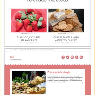 Les 6 meilleures thèmes WordPress gratuits pour un blog de cuisine