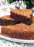 Gâteau fondant chocolat-banane