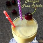 Smoothie mangue pina colada