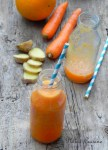Smoothie orange-carotte-gingembre