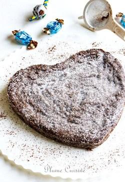 gâteau-fondant-chocolat-poudre