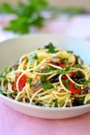 Spaghettis aux sardines