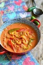crevettes-sauce-piquante-crémeuse