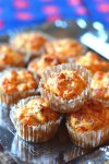 Muffins jambon et fromage