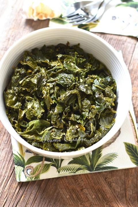 Chou-kale-sauté-ail