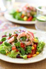 salade-de-crevettes-épicées