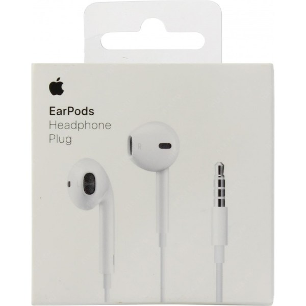 APPLE® MNHF2ZM/A EARPODS WITH REMOTE AND MIC BLISTER