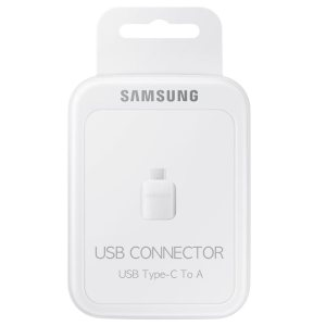 SAMSUNG® USB TO USB-C ADAPTER WHITE
