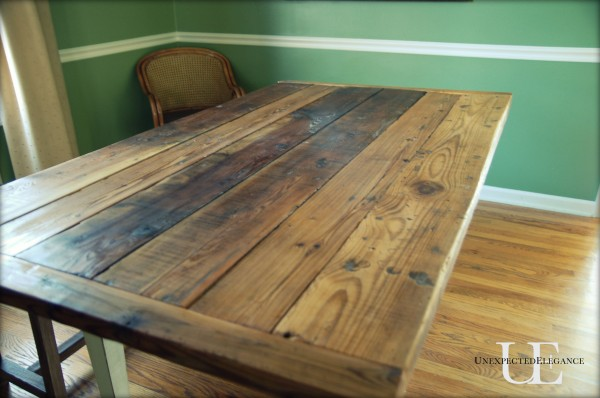 Barn Wood Table Tutorial Unexpected Elegance