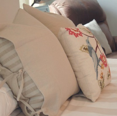 bedding makeover
