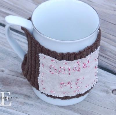Personalized Mug Warmer Gift Tutorial