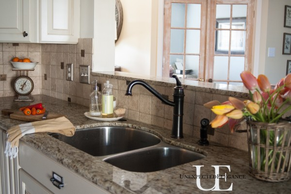 Mini Kitchen Makeover at Unexpected Elegance
