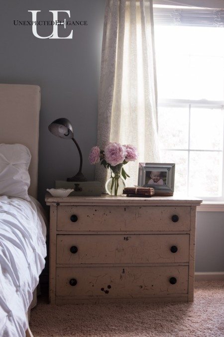 Vintage Bedside table via Unexpected Elegance