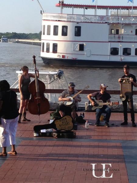 On the water in Savannah Georgia
