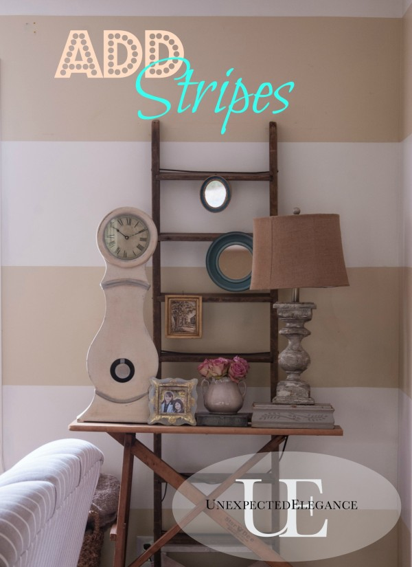 How to Add Horizonal Stripes to Any Room
