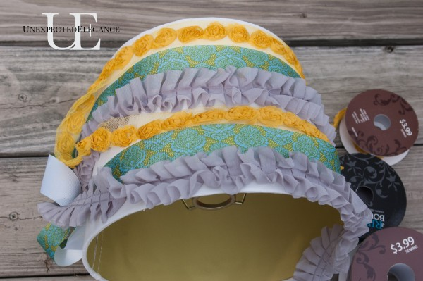 How to Add Ruffles to a Lamp Shade (1 of 1)