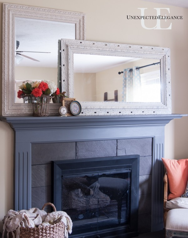 How to add more depth to your mantel (1 of 1)