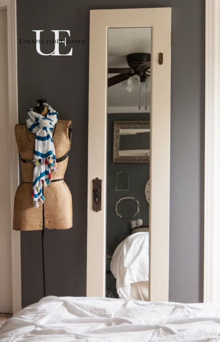 Old Door Turning Dressing Mirror (1 of 1)