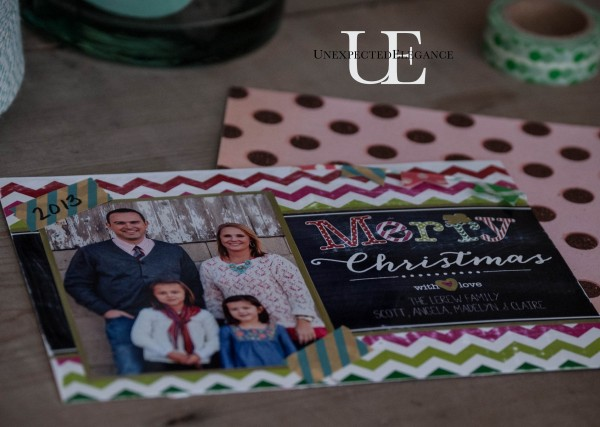 Simple Custom Photo Holiday Cards Tutorial Unexpected