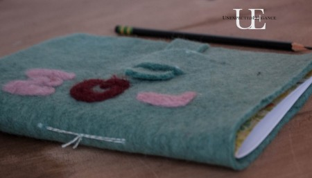 How to make a Felt Journal. Great for gift giving!-1-11