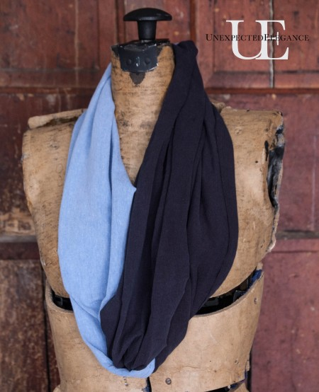 It's almost scarf wearing season!! Check out this SUPER easy Tutorial for an Infinity Scarf. PLUS find step by step instructions to make a fun NEW design using two different colors...the fashion statements you can make are endless! ;)