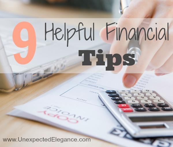 9 Helpful Financial Tips for Your Family Budget