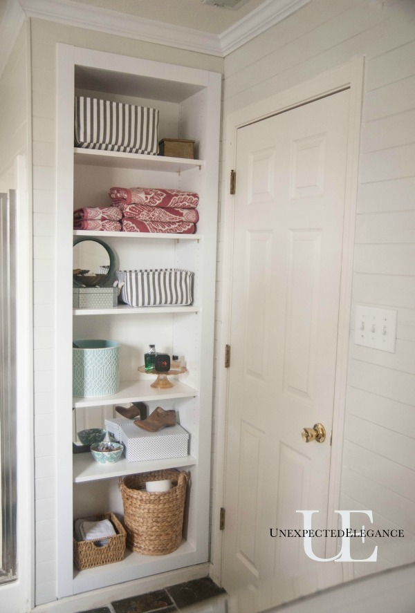 DIY Built In Shelving For Storage 1 6