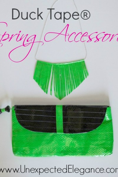 Duck Tape® Spring Accessories