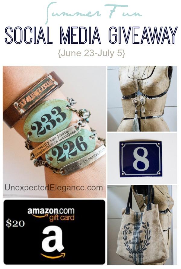 Summer Fun BIG Social Media Giveaway