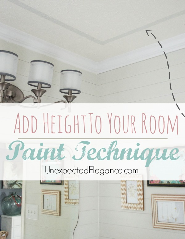 Add Height To Your Room With Paint Unexpected Elegance