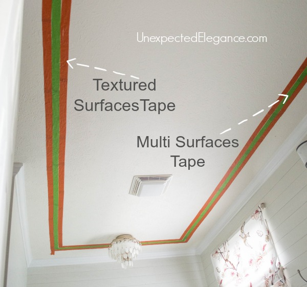 Easily Add Interest to Your Ceiling and Make the Room feel Taller-1-4