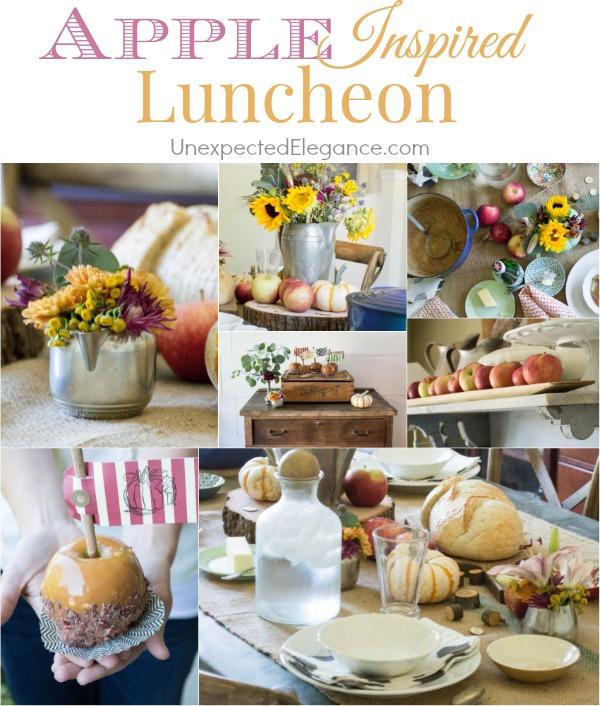 Apple Inspired Luncheon