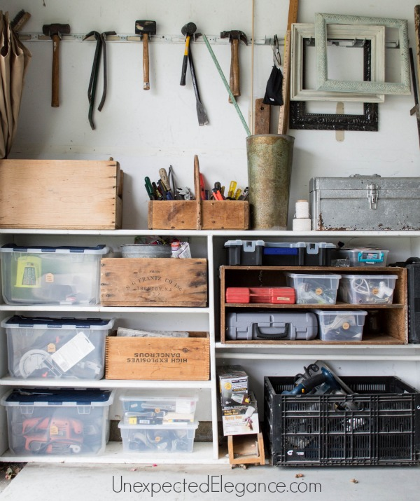 If you garage a disaster zone?? Get some great tips for organizing the garage and keeping it organized!! (You save money when you can find things and it alleviates some of un-need stress!)