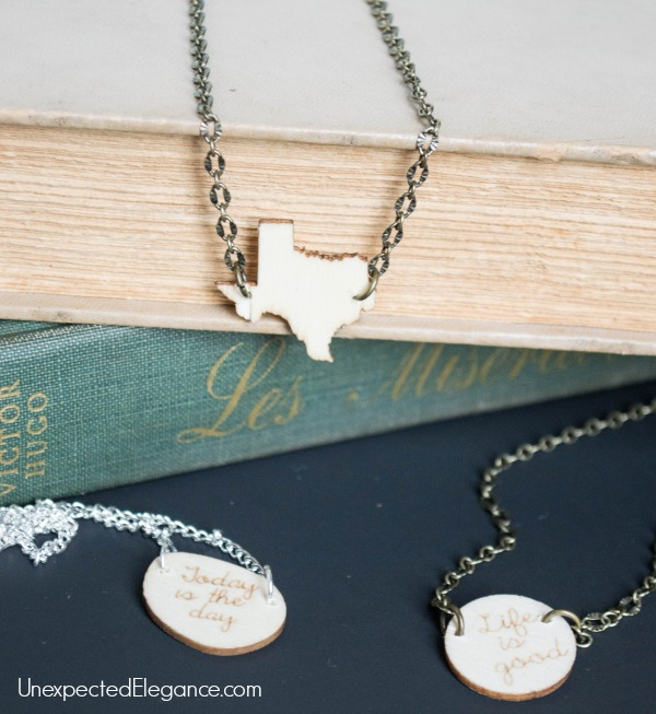 DIY Wooden Charm Necklace. Perfect for gift giving.-1-6
