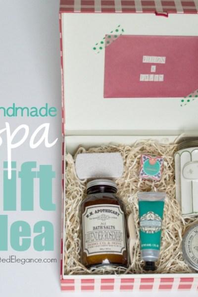Handmade Spa Gift Idea