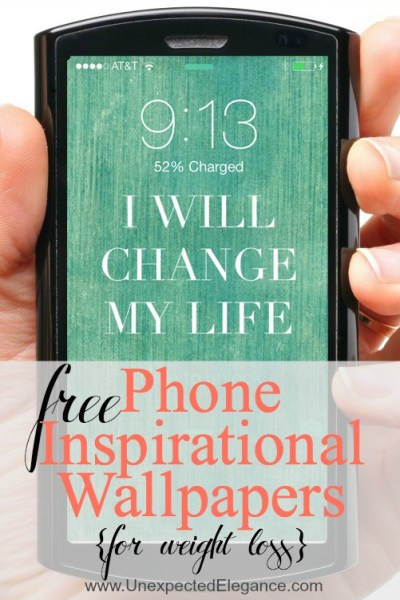4 FREE Phone Wallpapers (Perfect for When You are Trying to Loss Weight)