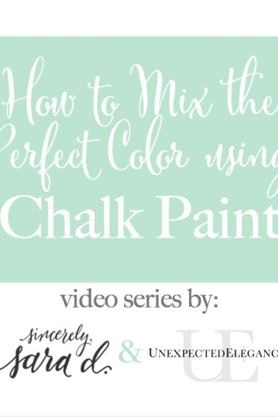 How to Mix Chalk Paint for the PERFECT Color | Episode 2