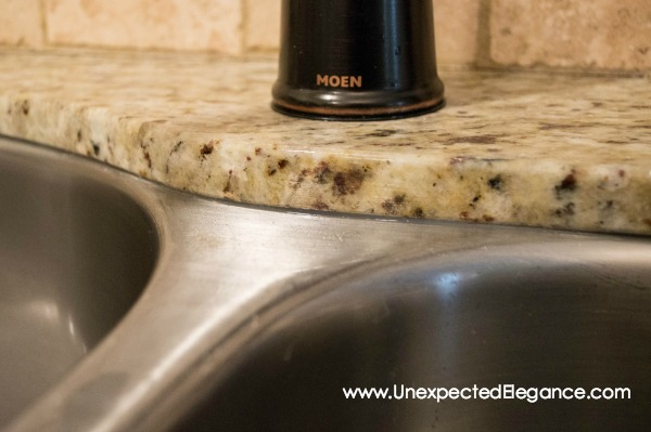 Spring Cleaning and Repair | Kitchen Sink - Unexpected Elegance