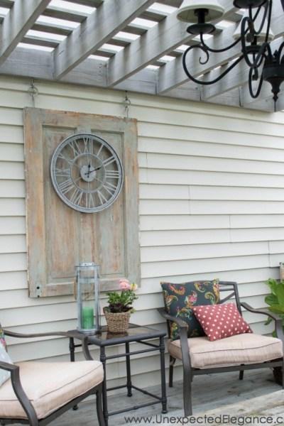 Easy Outdoor Artwork