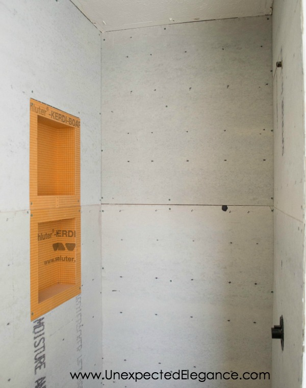 shower remodel with Schluter system-1-2