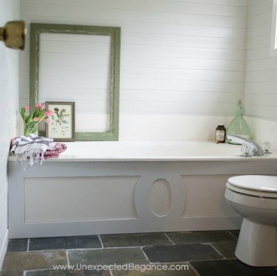 $9 Bathtub Makeover