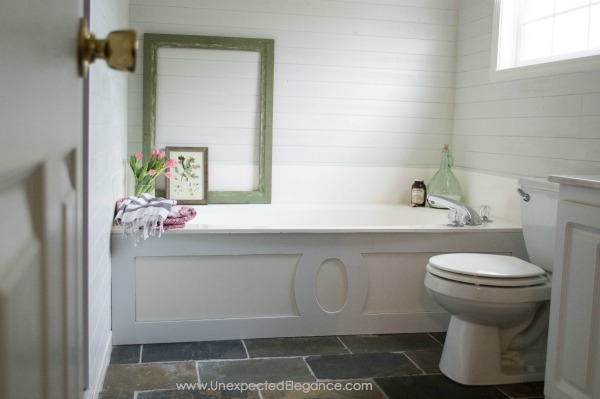 Simple Looking for ways to spruce up your bathroom without spending a fortune Here are