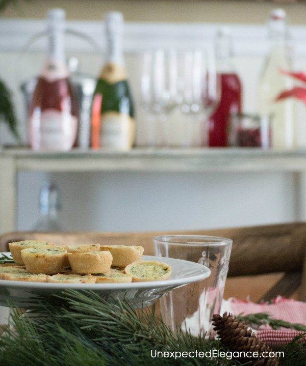 Kick off the holiday season and throw together a quick brunch for some of your girlfriends! This simple Christmas Brunch will give you time to relax and enjoy the hustle and bustle.