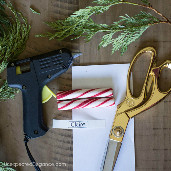 Simple Christmas Table-1-2