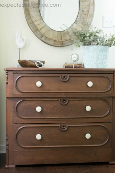 EASY PEASY Dresser Makeover