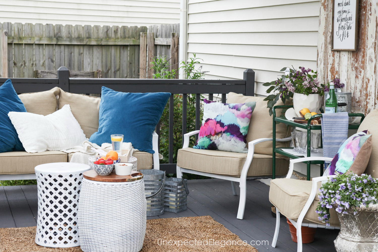 6 ways to update a patio unexpected