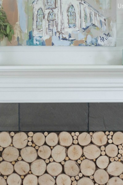 Woodstack Fireplace Insert Tutorial