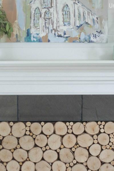 Woodstack Fireplace Insert Tutorial