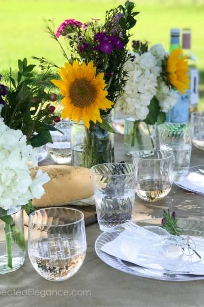 Tips for Hosting a Spring Outdoor Dinner